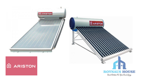 Roynal's House - Ariston - Slider - Solar Water Heater