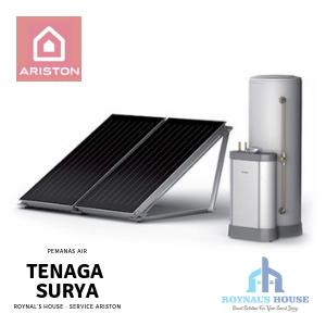 Roynal's House - Service Ariston - Solar Water Heater - 4