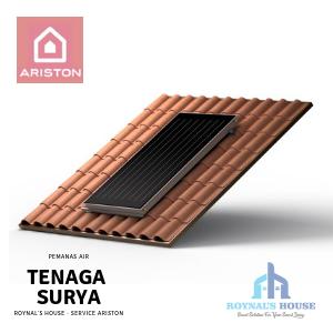 Roynal's House - Service Ariston - Solar Water Heater - 7