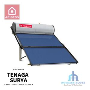 Roynal's House - Service Ariston - Solar Water Heater - 3