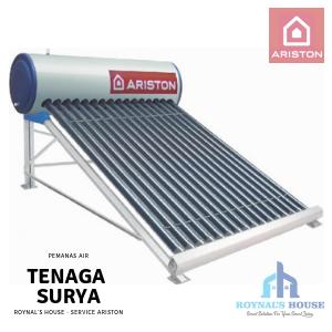 Roynal's House - Service Ariston - Solar Water Heater - 1